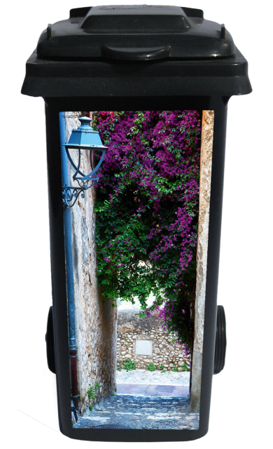 Containersticker Bougainville Steeg 38x84cm