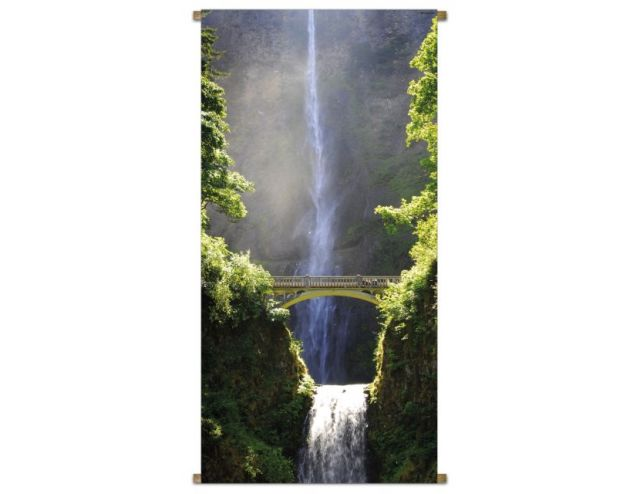Banner Waterval Oregon 85x170cm